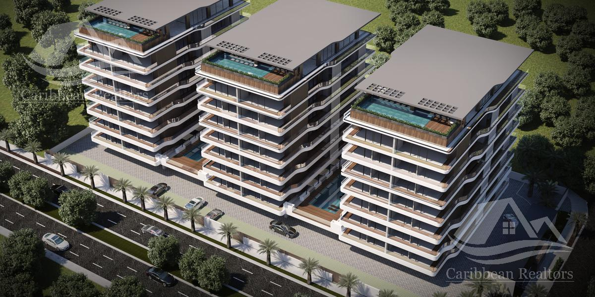 Foto Departamento en Venta en  Supermanzana 11,  Cancún  Departamento en Venta en Cancun/Sm 11/Icono Towers