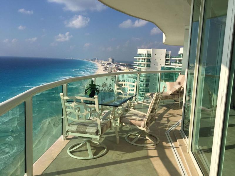 Foto Departamento en Venta en  Zona Hotelera,  Cancún  CLAVE VINI22020, DEPARTAMENTO EN RESIDENCIAL 5 ESTRELLAS  FRENTE AL MAR BAY VIEW GRAND