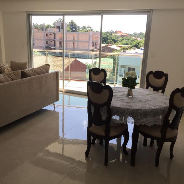 Foto Departamento en Alquiler en  Santisima Trinidad,  Santisima Trinidad  Alquilo Dpto. amoblado de 2 dormitorios en suite con 2 cocheras en Mburukuya
