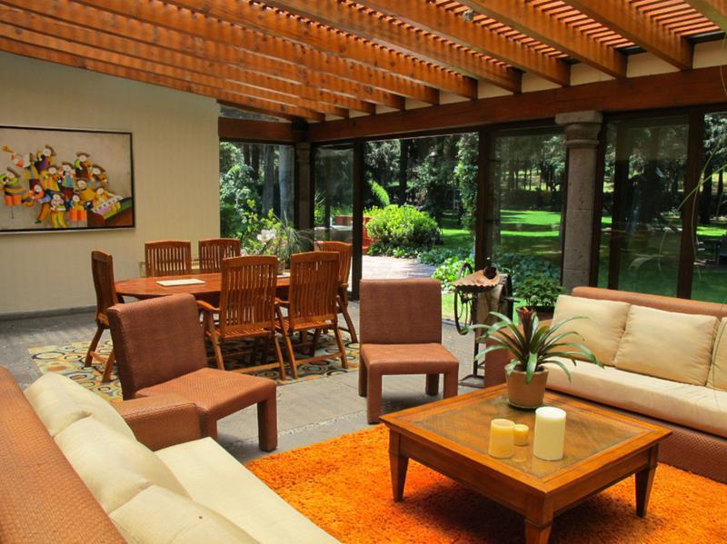 Foto Casa en Venta en  Ex-hacienda Jajalpa,  Ocoyoacac  RESIDENCIA EN VENTA HACIENDA JAJALPA SHCAT-1045