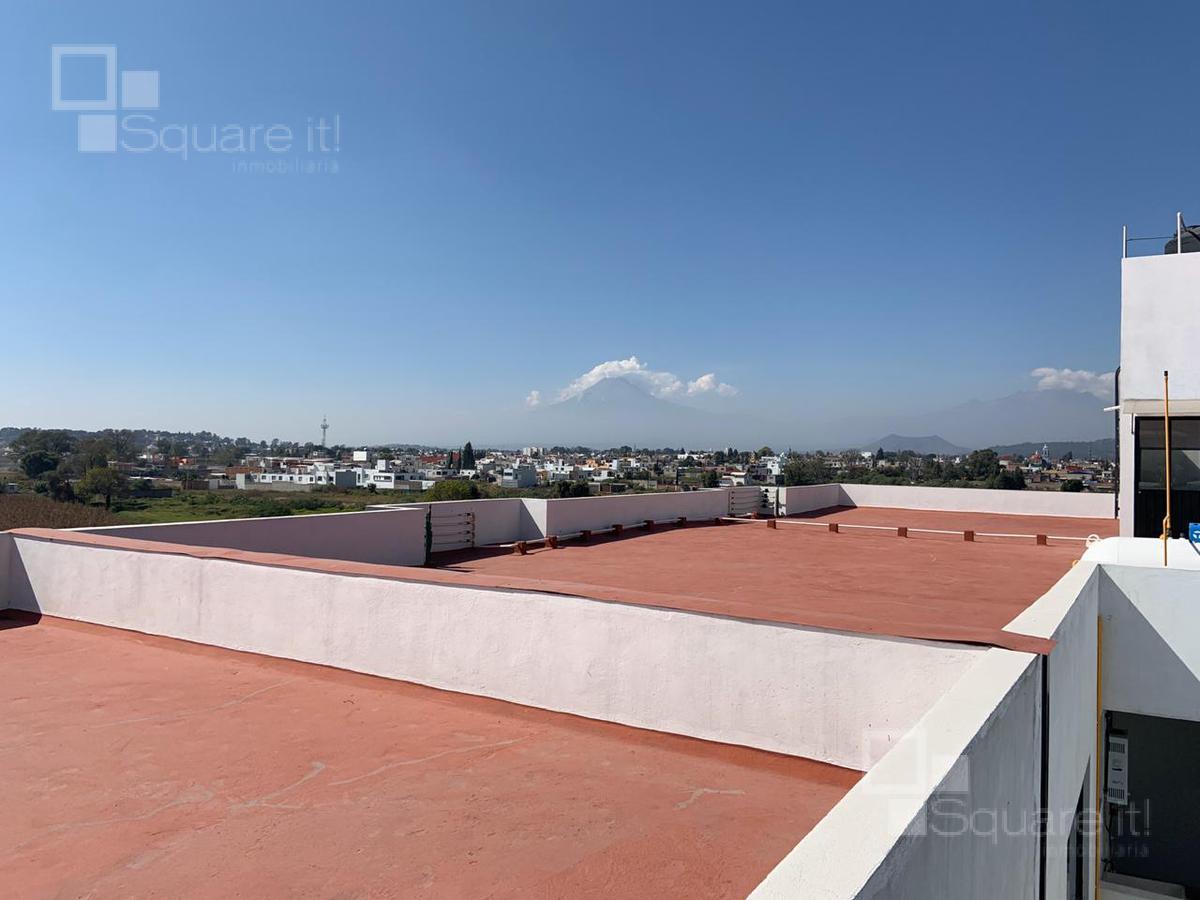 Foto Departamento en Renta en  Barrio Santiago Xicohtenco,  San Andrés Cholula  Deptos en Renta desde $11,000 San Andrés Cholula