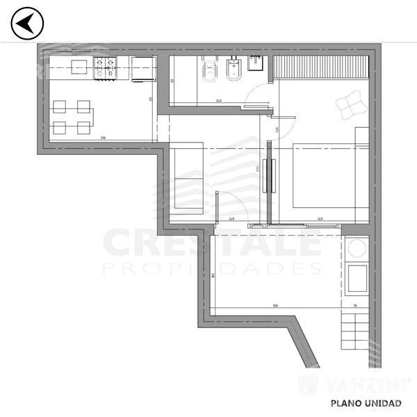 Venta casa 1 dormitorio Rosario, zona Echesortu. Cod CHO1108010. Crestale Propiedades