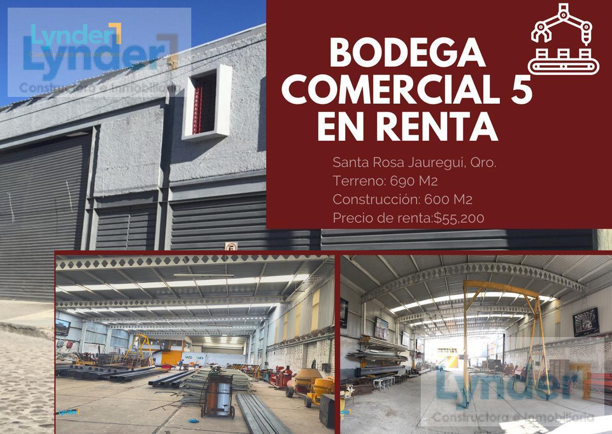 Foto Bodega en Renta en  Querétaro ,  Querétaro  BODEGA COMERCIAL EN RENTA EN SANTA ROSA JÁUREGUI CON PASEO DE LA REPÚBLICA QUERÉTARO