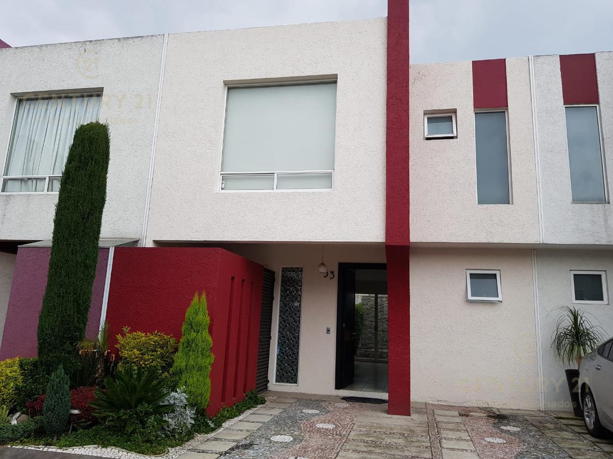 Foto Casa en condominio en Renta en  Paseos del Valle,  Toluca  Casa en Privada en renta a 12 min de Galerías Metepec