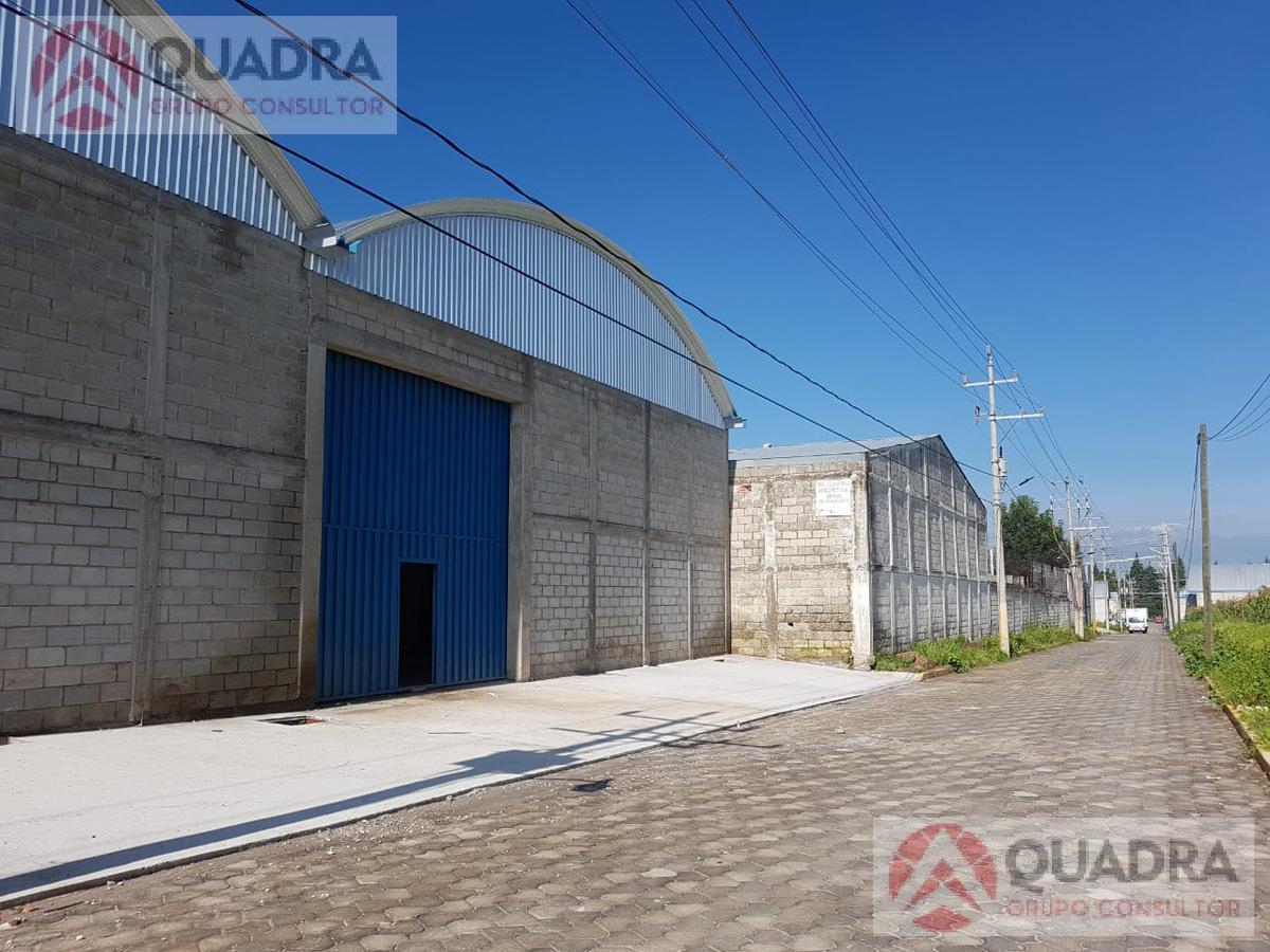 Foto Bodega Industrial en Renta en  Pueblo Sanctorum,  Cuautlancingo  Bodega cerca de Sanctorum Finsa en Tecamachalco Papalotla Tlaxcala