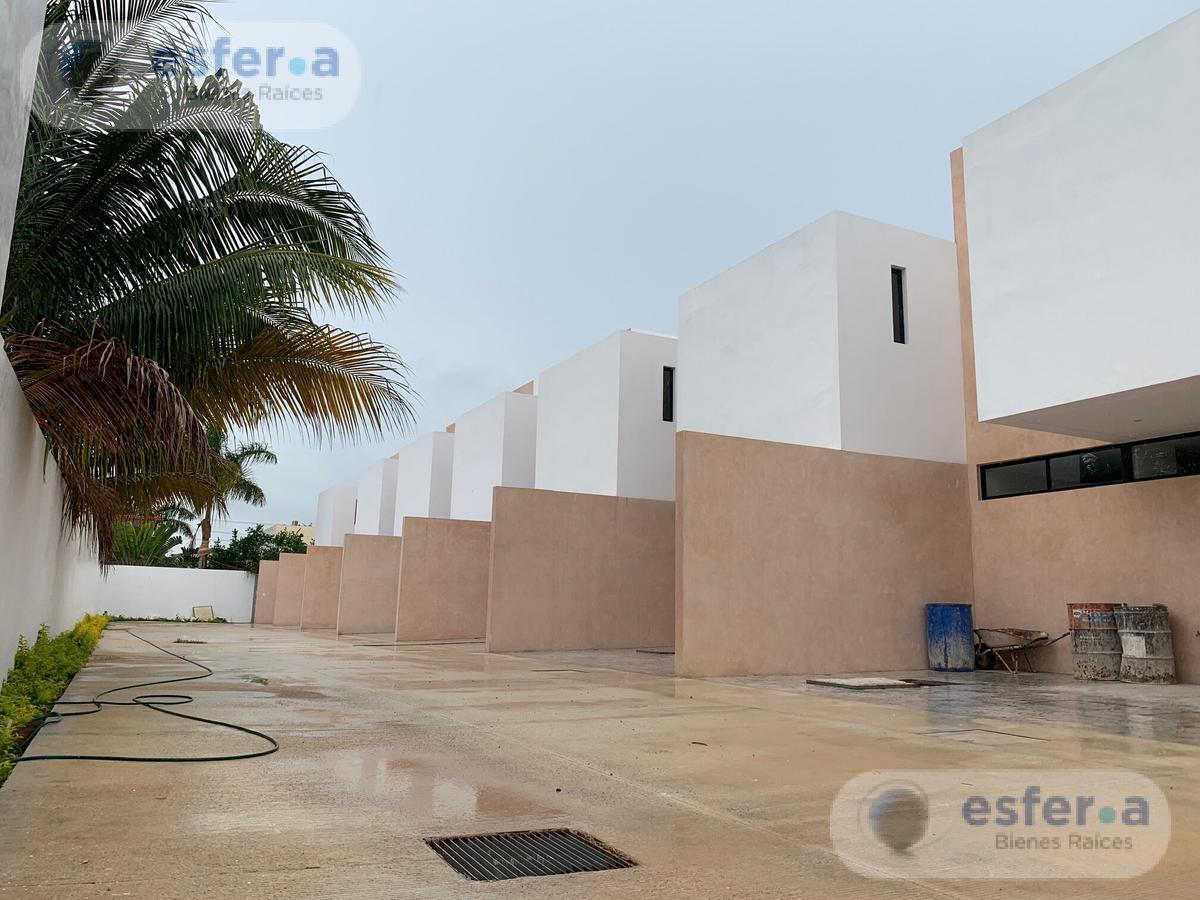 Foto Departamento en Venta en  Santa Rita Cholul,  Mérida  Town House en venta, 2 recámaras, Zona Norte Santa Rita cholul