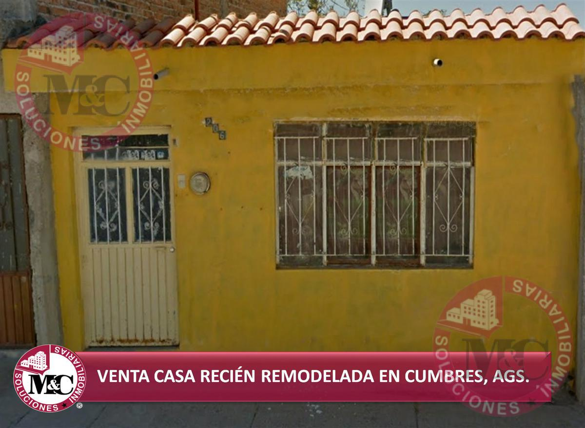Foto Casa en Venta en  Fraccionamiento Las Cumbres,  Aguascalientes  VENTA AMPLIA CASA DE UN PISO EN FRACC. LAS CUMBRES, AGS.