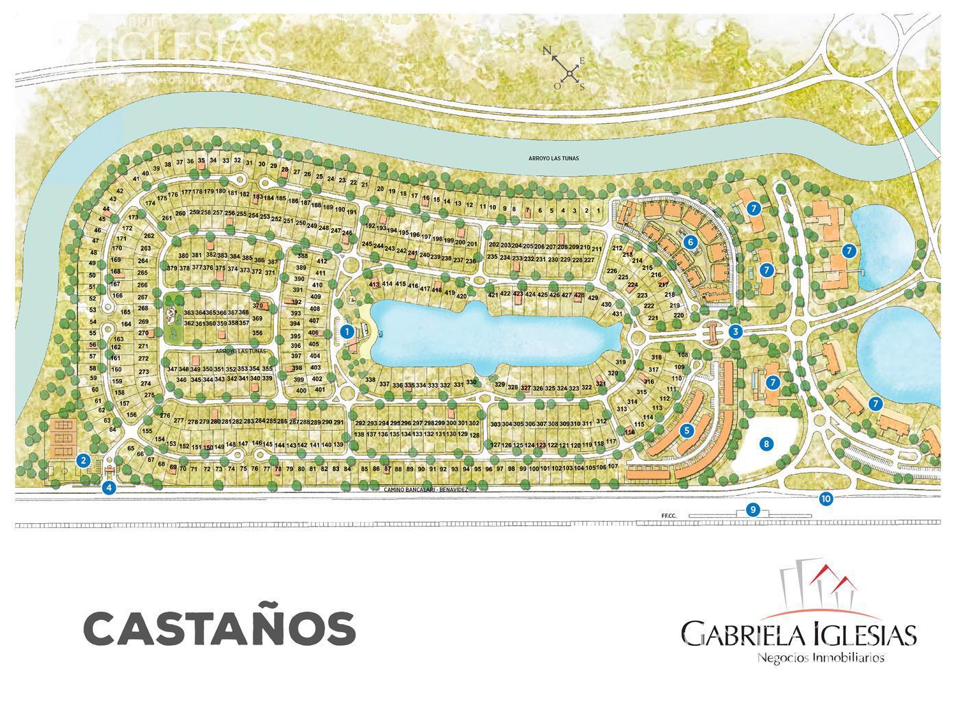Terreno en Venta en Los Castaños a Venta - u$s 195.000