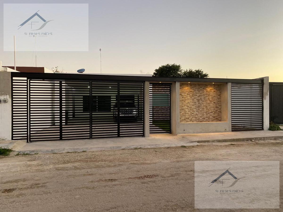 Foto Casa en Venta en  Pueblo Dzitya,  Mérida  Casa Lupita casa de una planta 3 recamaras