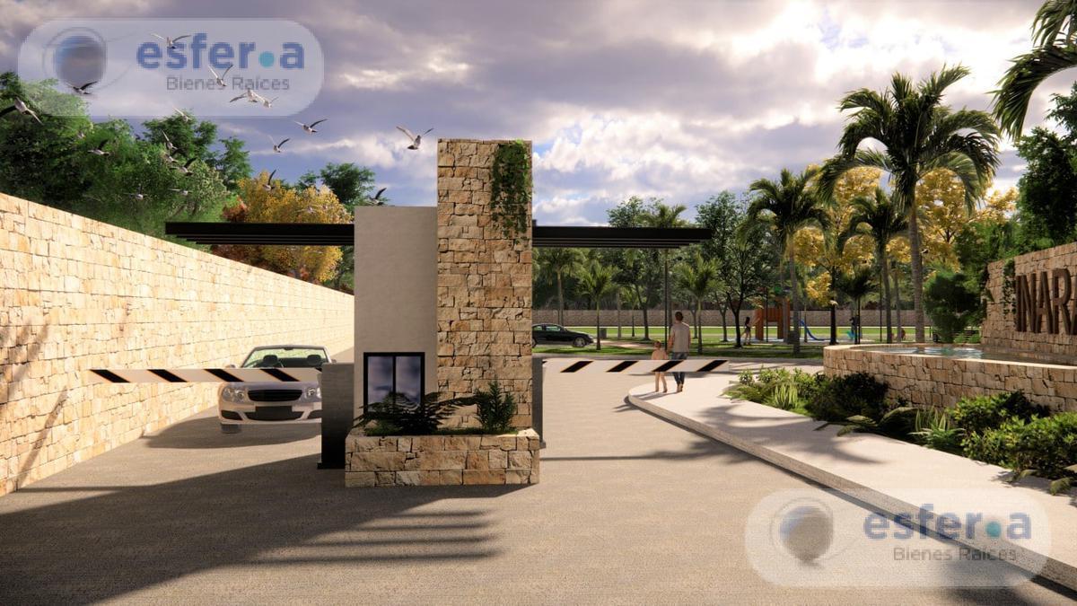 Foto Terreno en Venta en  Pueblo Cholul,  Mérida  Privada Inara, Lotes Residenciales con todos los servicios.