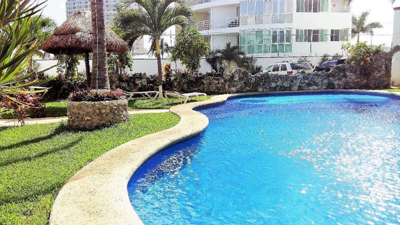 Foto Departamento en Renta en  Supermanzana 4 Centro,  Cancún  RESIDENCIAL LA NORIA A PASOS DE ENTRADA ZONA HOTELERA