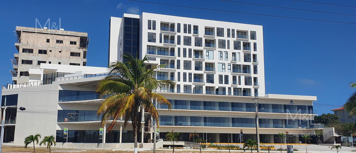 Foto Oficina en Renta en  Supermanzana 11,  Cancún  Oficina-Local en Renta en Cancún San Francisco Condos and Plaza,  Avenida Tulum, Supermanzana  11