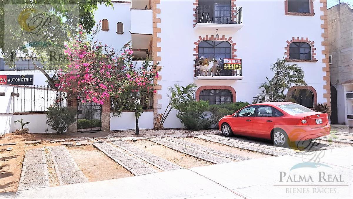 Foto Departamento en Renta en  Supermanzana 44,  Cancún  3 RECAMARAS AMUEBLADO CON LAVADORA Y TV