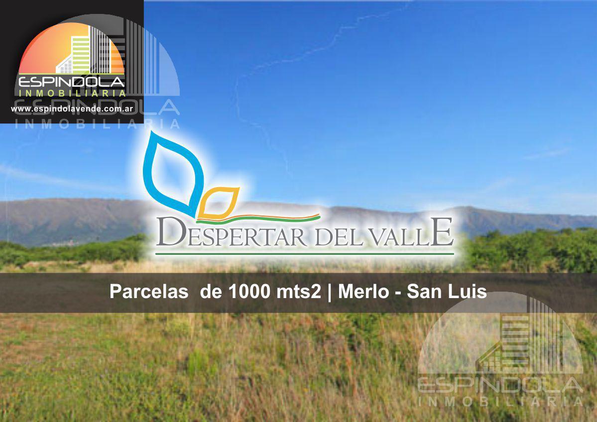 Foto Terreno en Venta en  Despertar del Valle,  Merlo  Cerro de Oro-Despertar del  Valle