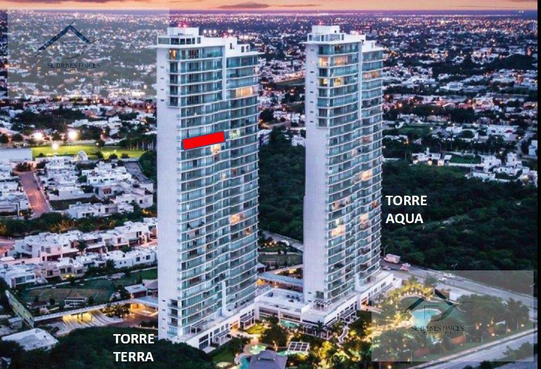 Foto Departamento en Venta en  Mérida ,  Yucatán  Country Towers Depto en venta -Torre Terra - Piso 22