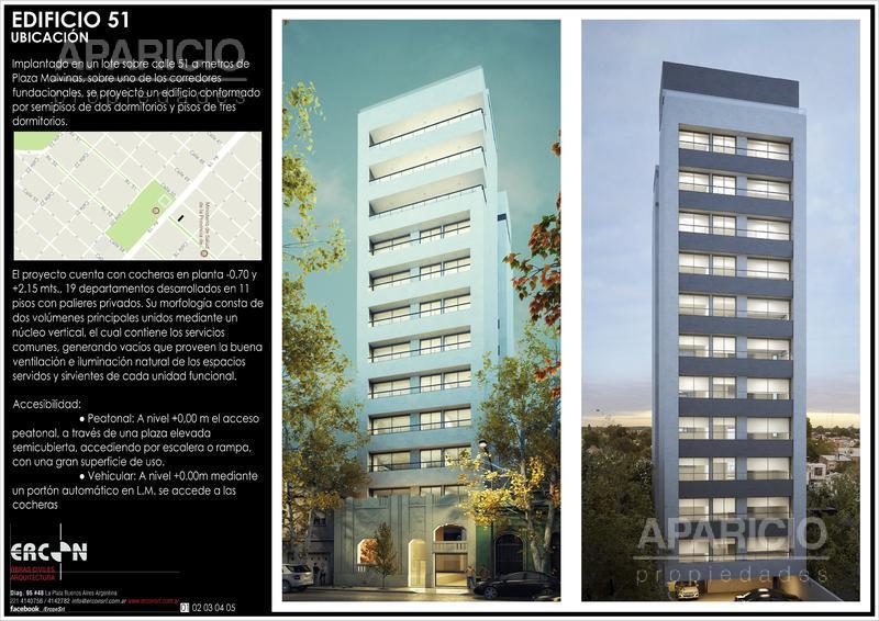 Foto Departamento en Venta |  en  La Plata,  La Plata  51 Entre 18 y 19