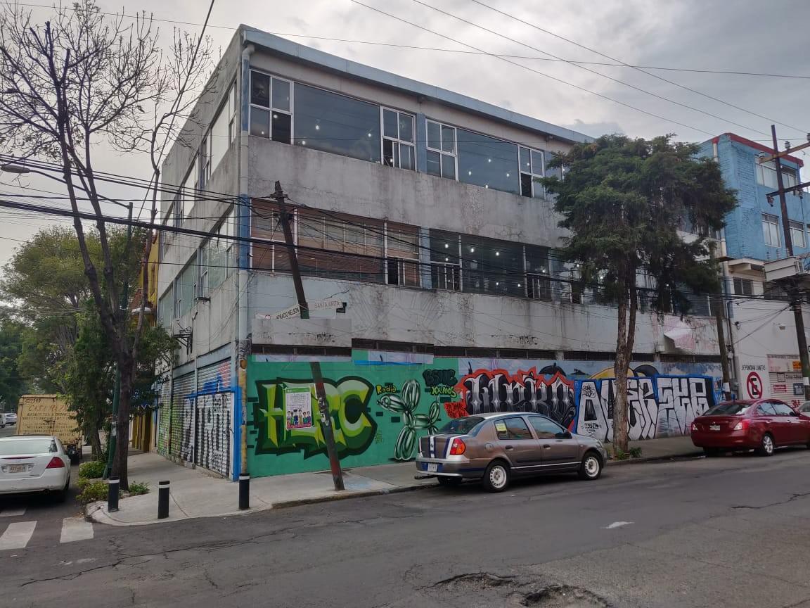 Foto Edificio Comercial en Venta en  Viaducto Piedad,  Iztacalco  Edificio Comercial a la venta  en calle Santa Anita, Col. Moderna