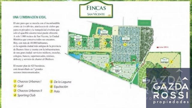Foto Terreno en Venta en  Fincas de San Vicente,  San Vicente  Juan Pablo II y ruta 58km