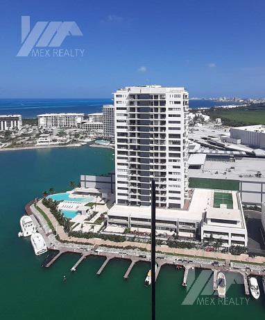 Foto Departamento en Venta en  Puerto Cancún,  Cancún  Departamento en Venta Amueblado, Marina Condos Puerto Cancún, Cancun Q. Roo, 2 Recamaras, Clave GERA9