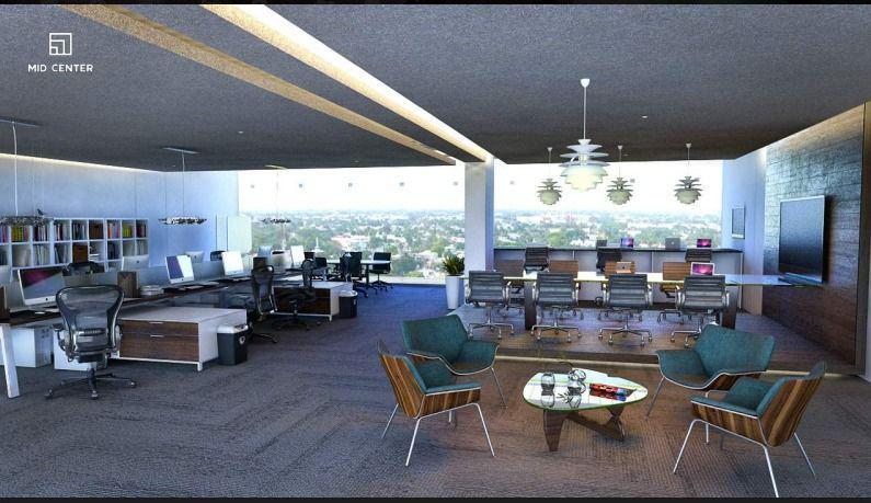 Foto Oficina en Renta en  Fraccionamiento Villas La Hacienda,  Mérida  Oficinas en renta en Torre Corporativa, Mid Center, sobre Avenida