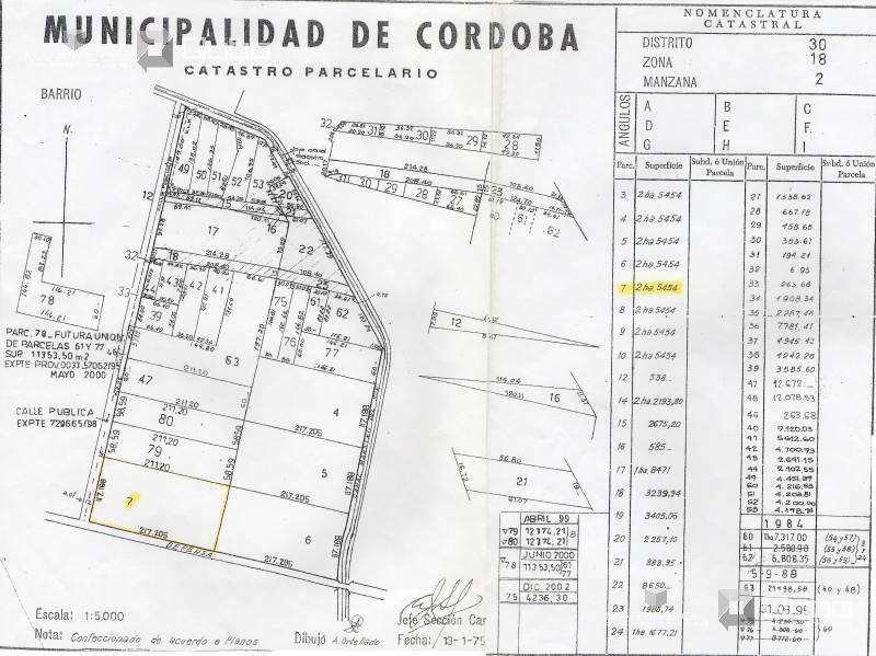 Foto Terreno en Venta en  Cordoba Capital ,  Cordoba  Defensa 0