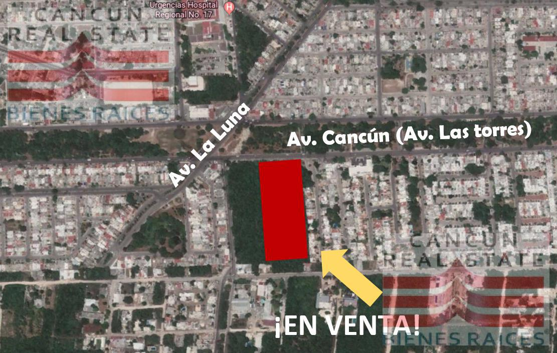 Foto Terreno en Venta en  Supermanzana 523,  Cancún  Av  Cancun