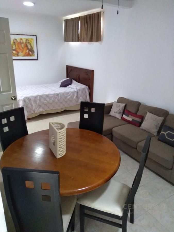 Foto Casa en Renta en  Playa del Carmen ,  Quintana Roo  Se renta hermoso Estudio Planta Baja con Patio entrada independiente, Playa del Carmen P2882