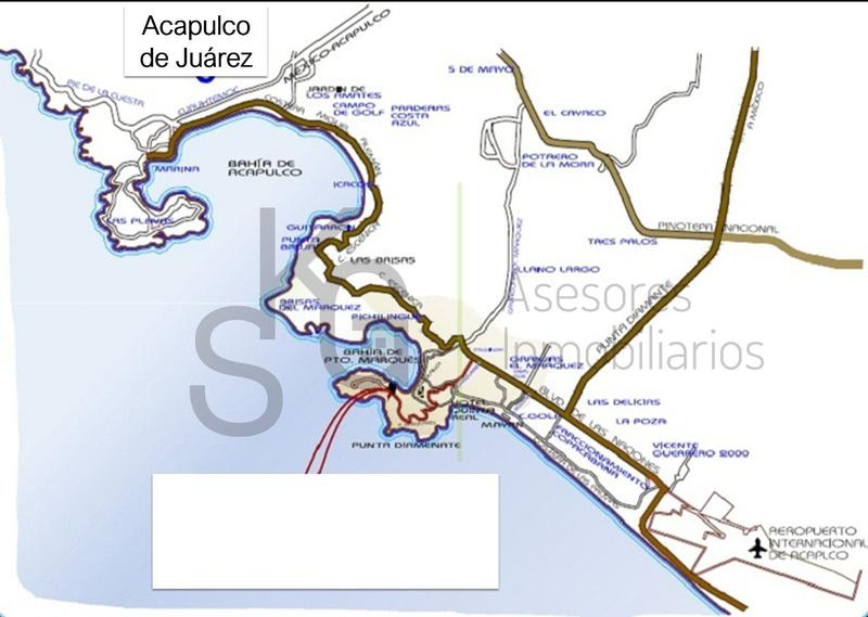 Foto Terreno en Venta en  Fraccionamiento Playa Diamante,  Acapulco de Juárez  Terreno de 43,867 m2 en VENTA en Acapulco Diamante