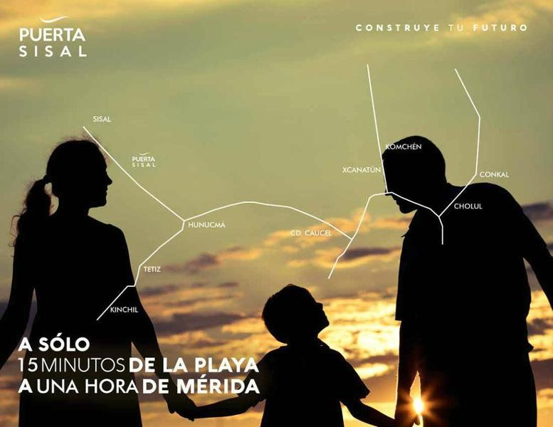 Foto Terreno en Venta en  Pueblo Sisal,  Hunucmá  PUERTA SISAL terrenos de inversión
