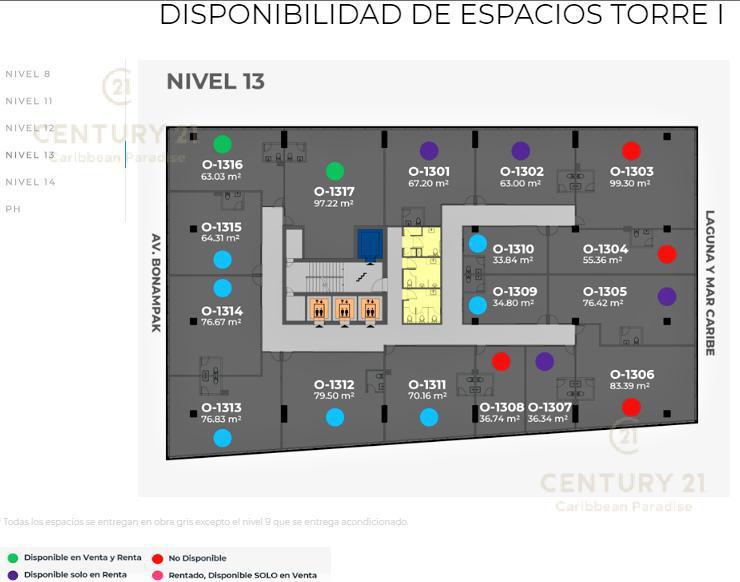 Cancún Oficina for Venta scene image 11