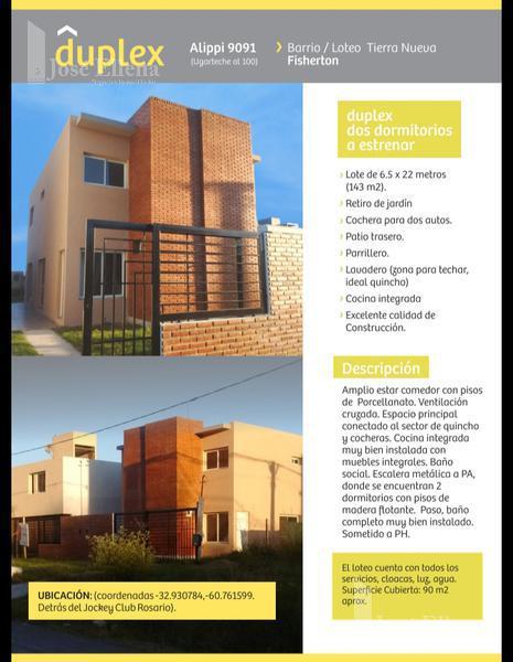 Foto Casa en Venta en  Fisherton,  Rosario  ALLIPPI al 9000