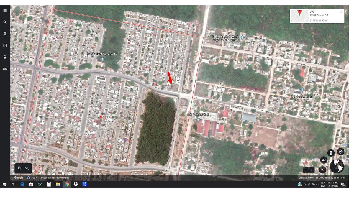 Cancún Centro Terreno for Venta scene image 3