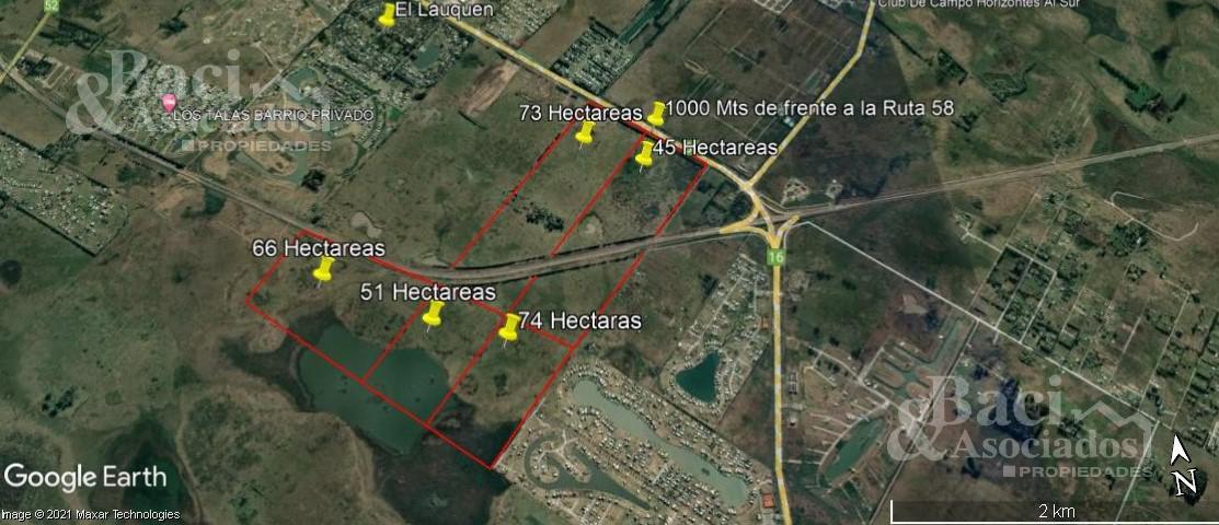 Foto Campo en Venta en  San Vicente,  San Vicente  Ruta 58  km 11