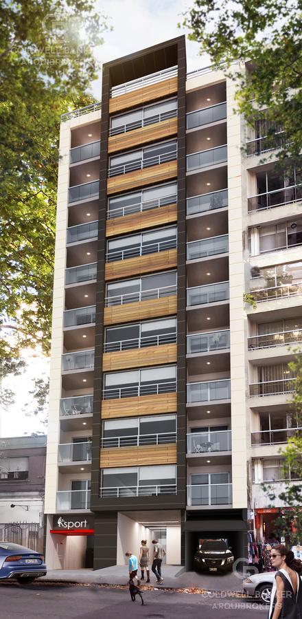 Foto Apartamento en Alquiler en  Pocitos ,  Montevideo  Apartamento monoambiente en alquiler en Pocitos al frente