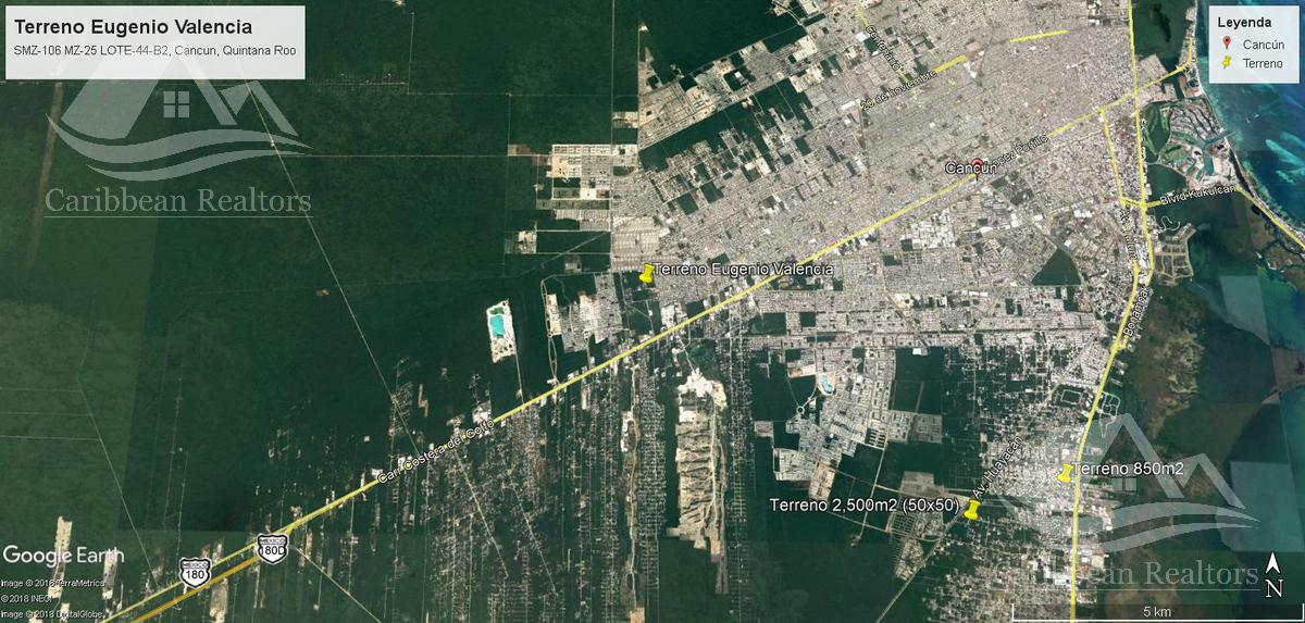 Picture Land in Sale in  Supermanzana 106,  Cancún  Supermanzana 106
