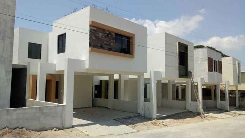 Foto Casa en condominio en Venta en  México,  Tampico  CV-330 CASAS EN CONSTRUCCIÓN COL. MÉXICO EXCELENTE UBICACIÓN