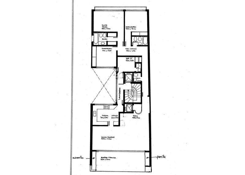 Departamento-Alquiler-Palermo-CERVIÑO 4400 e/KENNEDY y ORO