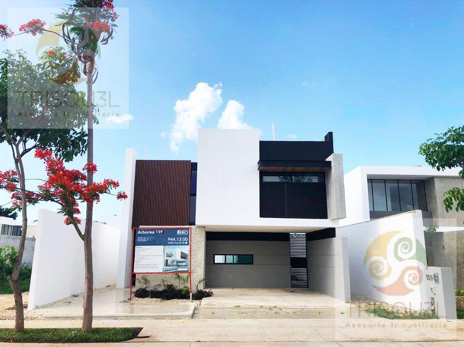 Foto Casa en condominio en Venta en  Pueblo Conkal,  Conkal  Casa en Venta Privada Arbórea (159) Conkal, Mérida Yucatán