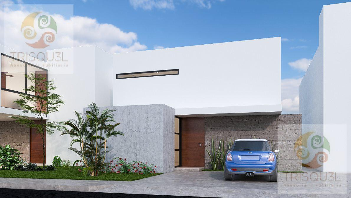 Foto Casa en condominio en Venta en  Pueblo Conkal,  Conkal   Casa en Venta en Privada Otavia una Planta (Mod.159)Conkal,Mérida Yucatán