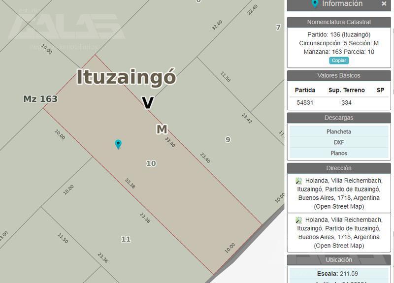 Foto Casa en Venta en  Ituzaingó Norte,  Ituzaingó  Holanda al 2600