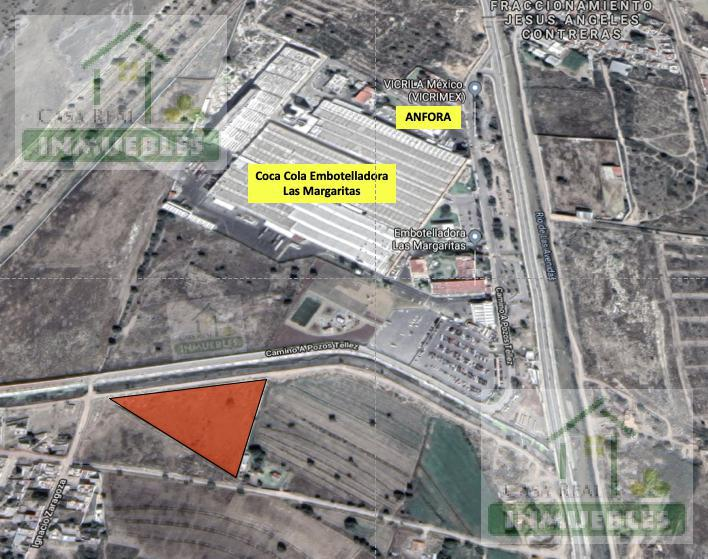 Foto Terreno en Venta en  Parque industrial La Reforma Canacintra,  Mineral de la Reforma  TERRENO FRENTE A LAS MARGARITAS (COCA)