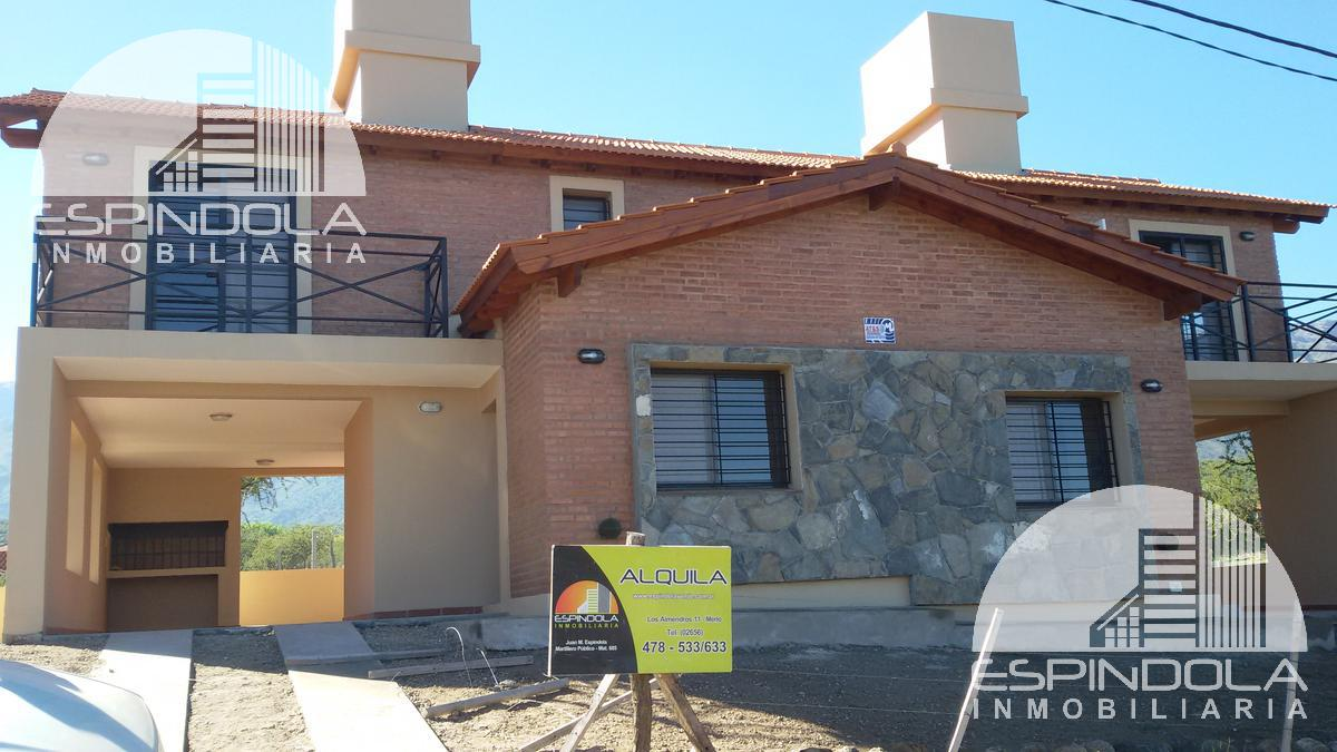 Foto Casa en Alquiler en  Barranca Colorada,  Merlo  Maipu 600