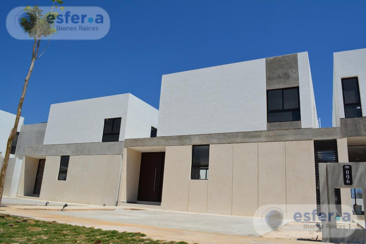 Foto Casa en Venta en  Pueblo Cholul,  Mérida  CASA EN VENTA EN PRIVADA AL NORTE DE MERIDA  PALTA 152 | MODELO F | CHOLUL