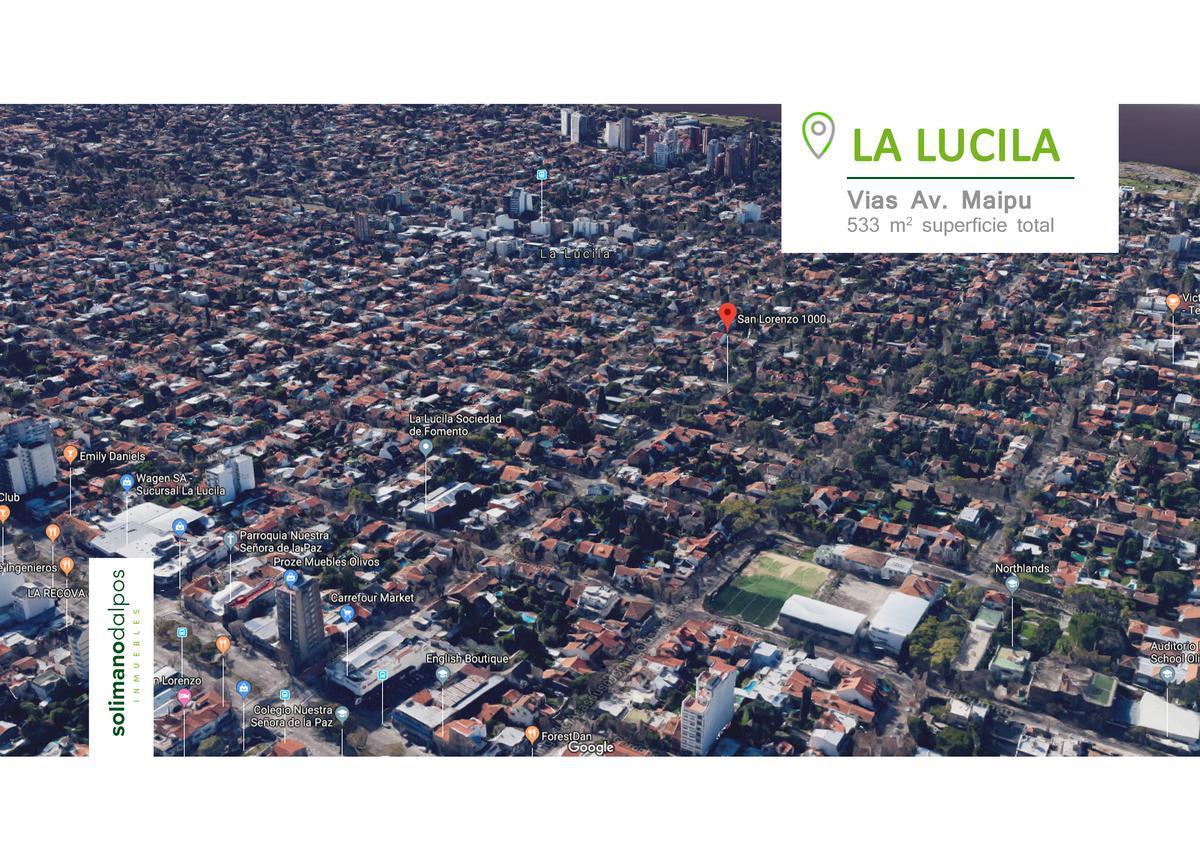 Foto Terreno en Venta en  La Lucila-Vias/Maipu,  La Lucila  Wineberg 3300