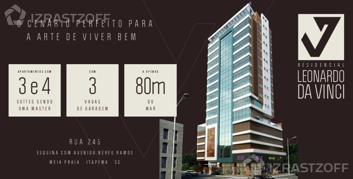 Departamento-Venta-Brasil-A 50 metros de la orija del mar