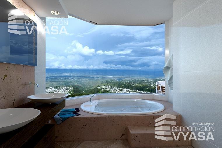Foto Departamento en Venta en  Norte de Quito,  Quito  CAMPO ALEGRE, Nº 3 DEPARTAMENTO DUPLEX DE VENTA DE 476.56 M2 con 181.51 m2 DE JARDÍN