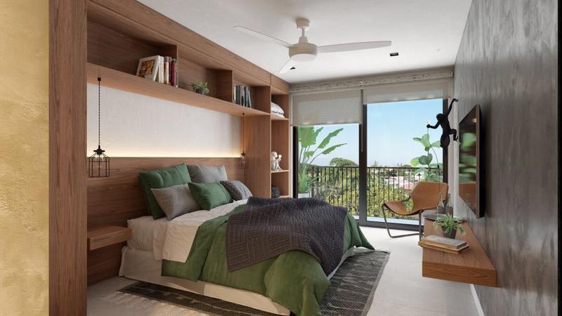 Foto Departamento en Venta en  Playa del Carmen ,  Quintana Roo  Departamento Venta Playa del Carmen Urban Tower $160,000 USD Marjos E1