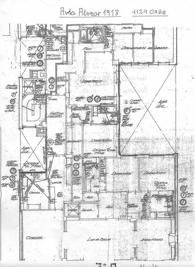 Departamento-Venta-Recoleta-Alvear 1900 e/Ayacucho y Ortiz