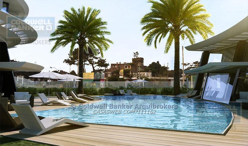 Foto Apartamento en Venta en  Playa Mansa,  Punta del Este  u1005 - Apartamento de 1 dormitorio y medio en venta en La Mansa