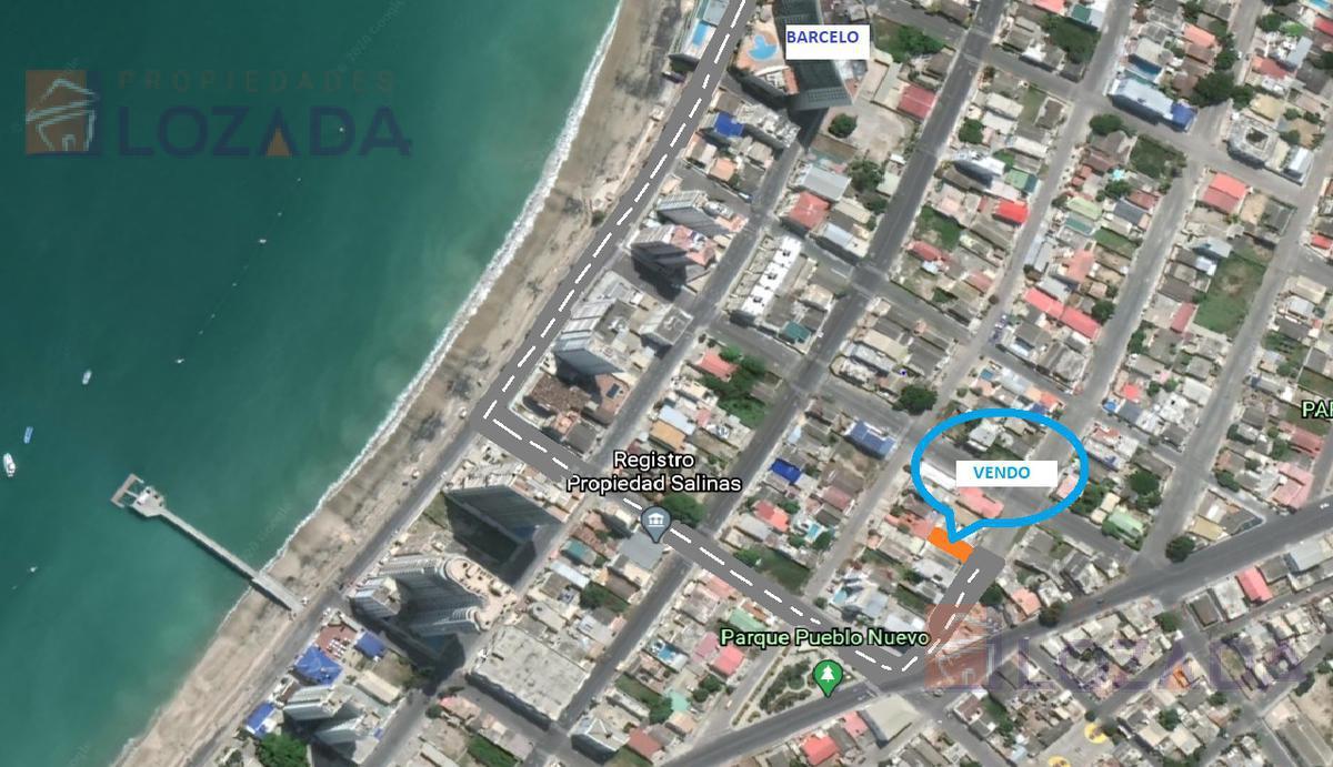 Foto Terreno en Venta en  Malecon de Salinas,  Salinas  Vendo Terreno Salinas a 4 cuadras del Malecon cercado